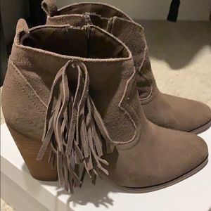 Steve Madden brown booties 8.5